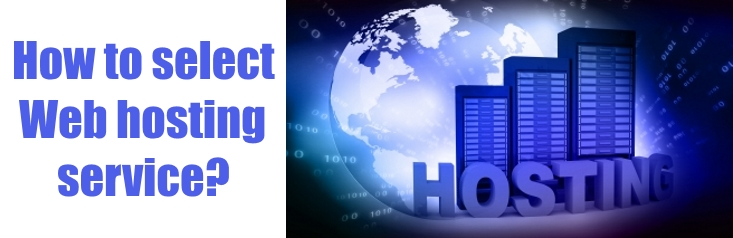 How to select web hosting services