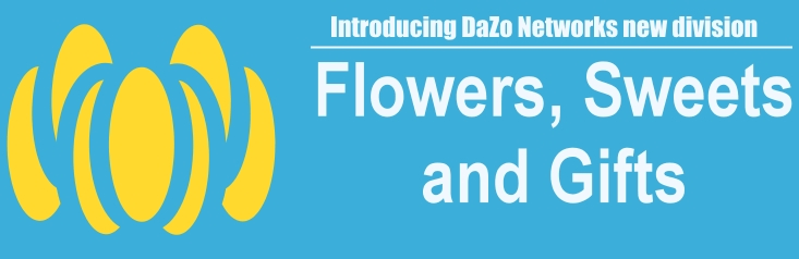 Flowers Sweets Gifts – DaZo Networks new division